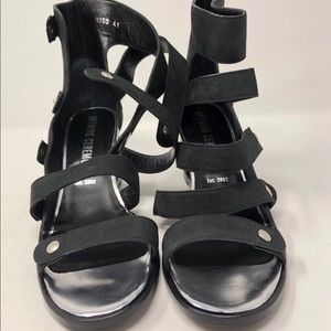 Opening Ceremony Strappy Wedge Sandals